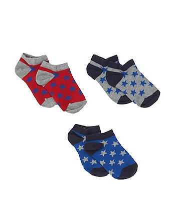 Star Trainer Socks - 3 Pack