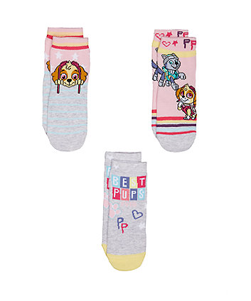 Mothercare Paw Patrol Socks - 3pack