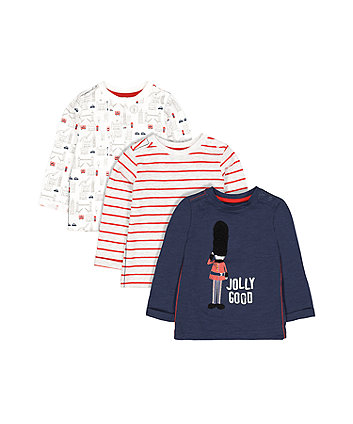 Mothercare London T-Shirts - 3 Pack