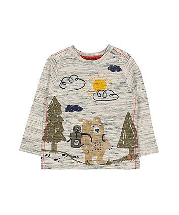 Oatmeal Bear Hike T-Shirt