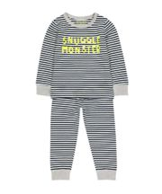 Mothercare Snuggle Monster Pyjamas