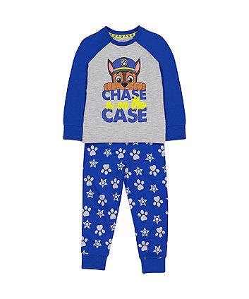 Mothercare Blue Paw Patrol Chase Pyjamas