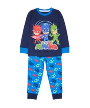 Mothercare Blue Pj Masks Pyjamas