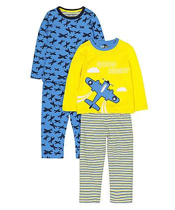 Mothercare Plane Pyjamas
