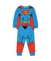 Mothercare Dc Superman Dress Up Pyjamas