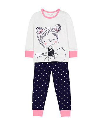Mothercare Ballet Dancer Pyjamas