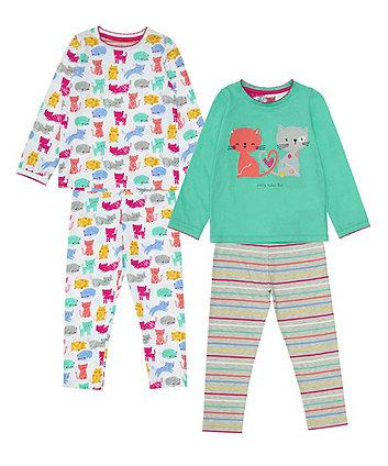 Mothercare Cat Pyjamas