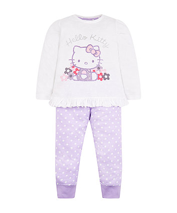 Purple Hello Kitty Pyjamas