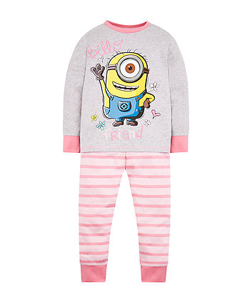 Pink Minion Friends Pyjamas