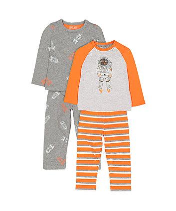 Astronaut Pyjamas - 2 Pack