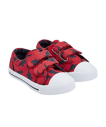 Mothercare Navy Canvas Shoes