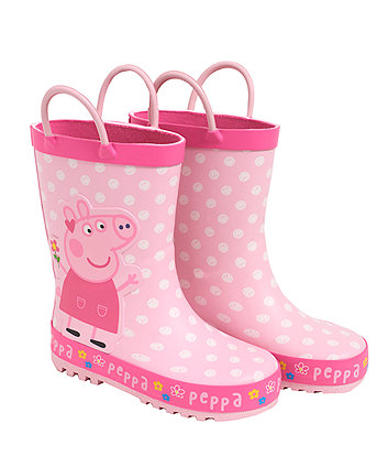 Pink Peppa Pig Wellies