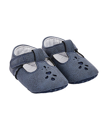 Mothercare First Walkers T-Bar Cut Out Shoes