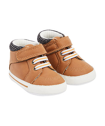 Mothercare Tan Boots