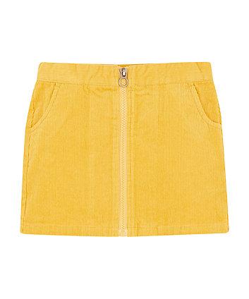 Mothercare Mustard Cord Skirt