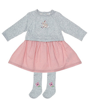 Mothercare Bunny Knitted Dress