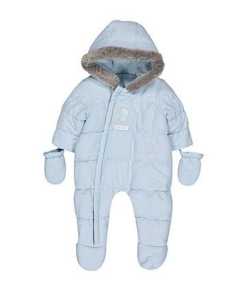 Blue Bear Snowsuit