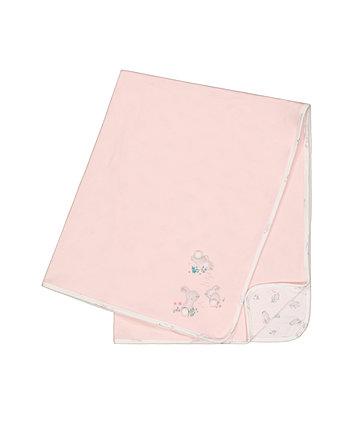 Mothercare Pink Bunny Shawl