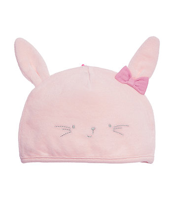 My First Bunny Velour Hat