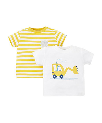 Stripe Digger T-Shirts - 2 Pack