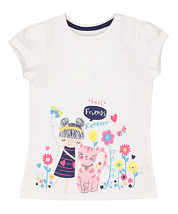 Mothercare Best Friends Border T-Shirt