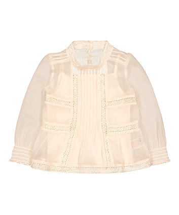 Mothercare Pleated Blouse