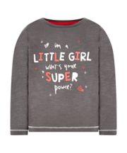 Grey Super Power T-Shirt