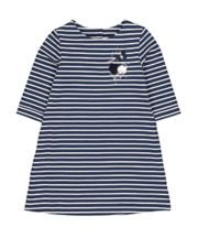 Mothercare Navy Stripe Embroidery Dress