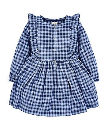 Mothercare Brushed Check Dress