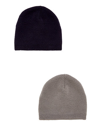 Grey And Black Magic Beanie
