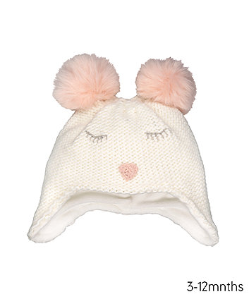Mothercare Cute Character Trapper Hat