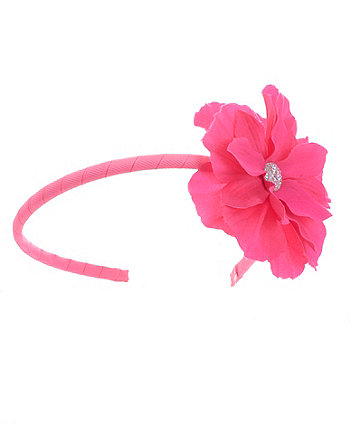 Mothercare Bright Pink Corasage Headband