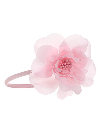 Pink Corasage Headband