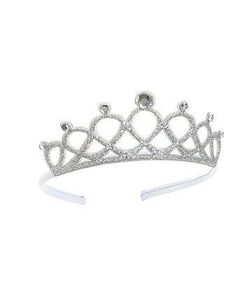 Silver Sparkle Tiara Headband