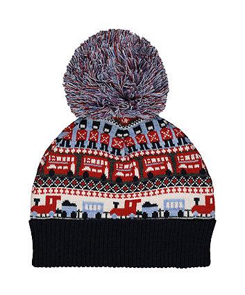 Heritage Fairisle Beanie Hat