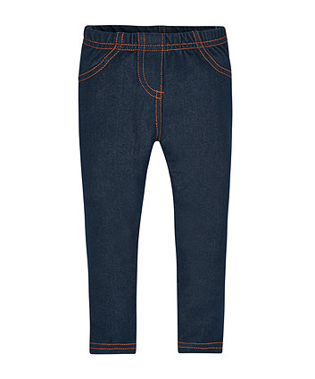 Mothercare Dark-Wash Denim Look Jeggings