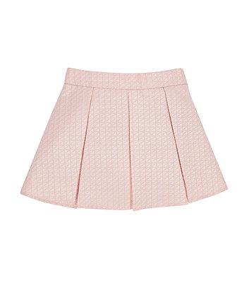 Mothercare Pink Jacquard Skirt