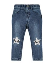 Sequin Star Boyfriend Jeans