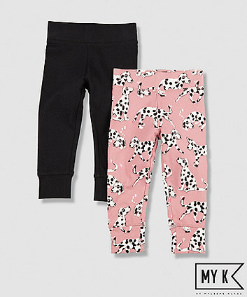 Mothercare My K Dalmation Leggings - 2 Pack