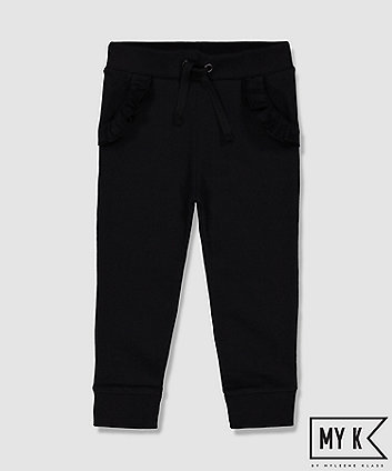 Mothercare My K Black Frill Joggers