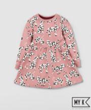 Mothercare My K Pink Dalmatian Dress
