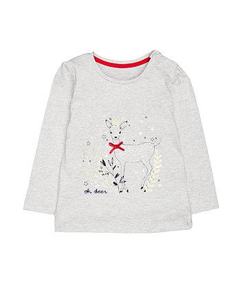 Heritage Grey Deer T-Shirt