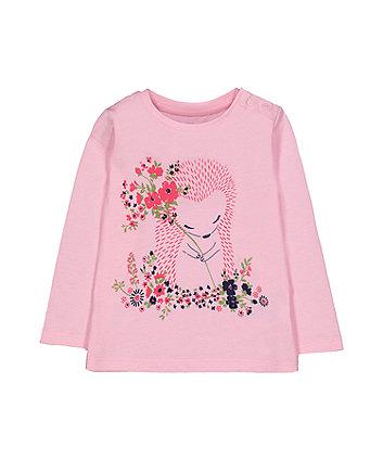 Pink Hedgehog T-Shirt