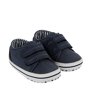 Mothercare Navy Trainers