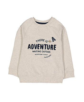 Oatmeal Adventure Sweat Top