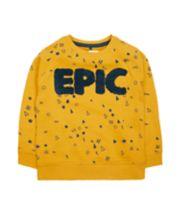 Mustard Epic Sweat Top