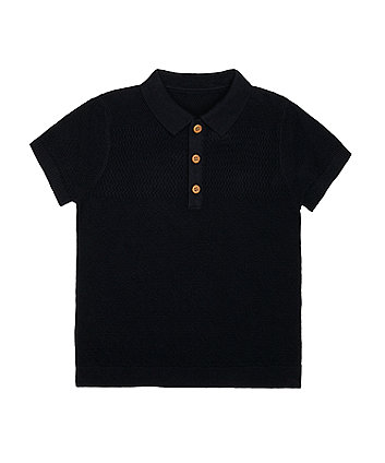 Mothercare Kavy Nitted Polo Shirt