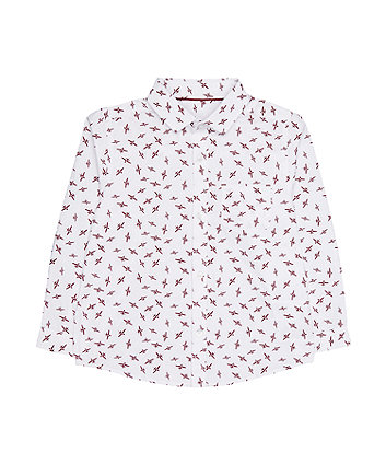 Mothercare White Plane Shirt