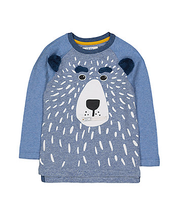 Blue Bear Raglan T-Shirt