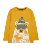 Mustard Polar Bear T-Shirt